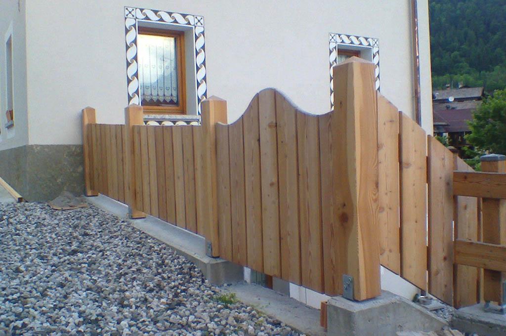 recinzioni e staccionate in legno ad agordo belluno